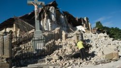 Destruction in Haiti following a 7.0 magnitude earthquake