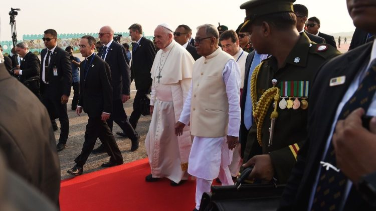 Pope Francis is in Bangladesh, Nov. 30-Dec 1.