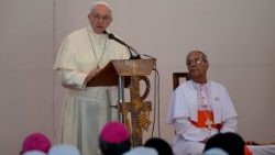 Card. Patrick D'Rozario, Pope's special envoy to World Day of the Sick in Kolkata
