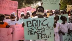 South Sudan peace protest