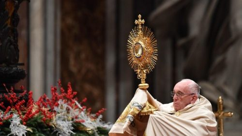 Pope leads Vespers and Te Deum for New Year's Eve