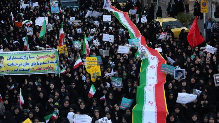 La protesta in Iran