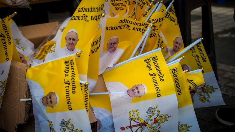 Preparing for Pope Francis' visit in Chile