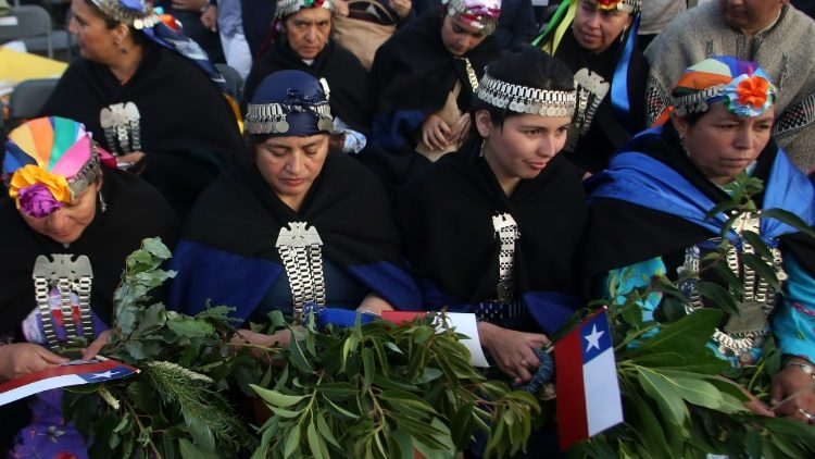 Mulheres mapuches