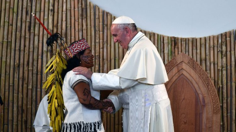 The Pope and the Amazon: the Church cannot remain silent - Vatican News