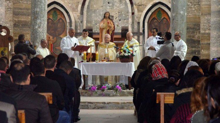 Una celebrazione presieduta dal Patriarca Sako