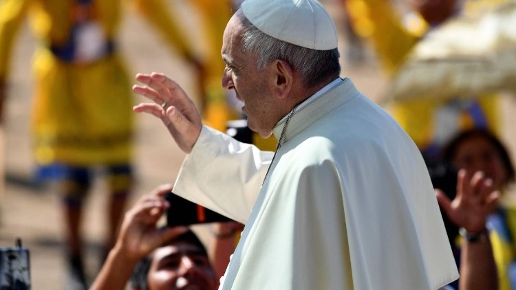 Pope Francis celebrates Holy Mass in Trujillo