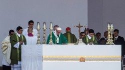 Pope Mass in Lima: Jesus walks in our cities rekindling hope