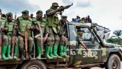 Armed Forces of the DRC in Opira, North Kivu