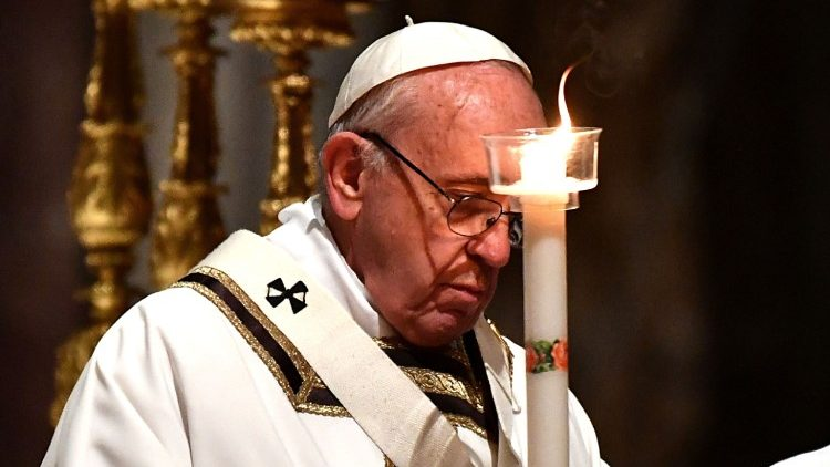 Pope Francis celebrates Mass in St. Peter's Basilica on World Day for Consecrated Life