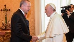 VATICAN-TURKEY-DIPLOMACY