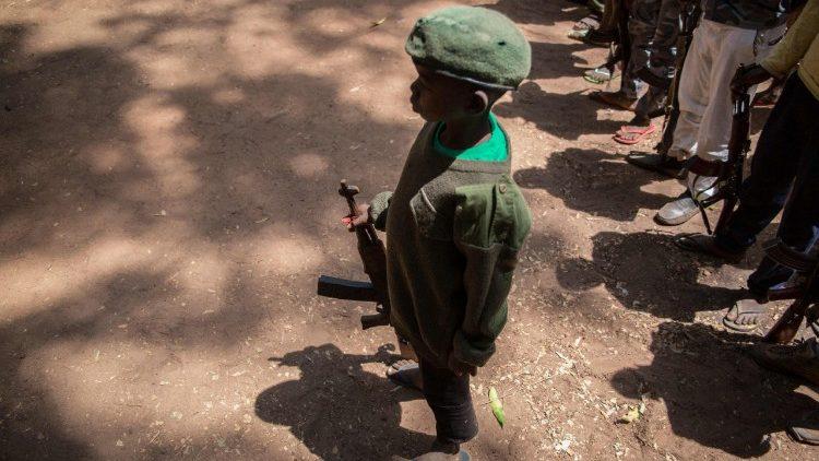 Un bambino soldato