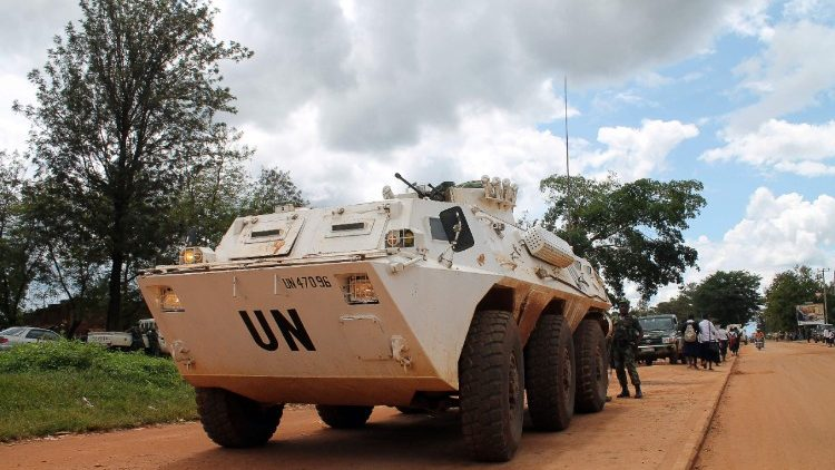 UN Peacekeeping force in African Congo