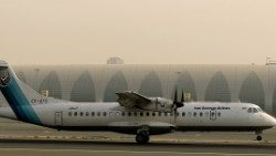File photo of a ATR-72 owned by Iran's Aseman Airlines