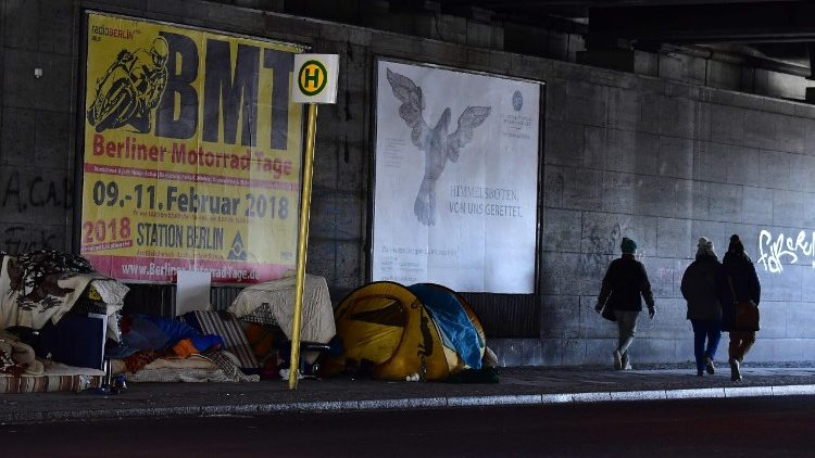 GERMANY-EUROPE-WEATHER-POVERTY-HOMELESSNESS