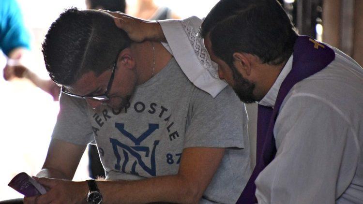 COSTA RICA-RELIGION-CATHOLICS-FORGIVENESS-FEAST