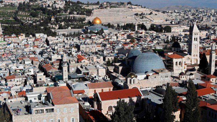 Il basilica del Santo Sepolcro a Gerusalemme