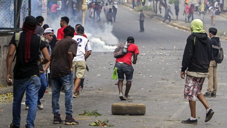Protests continue in Nicaragua