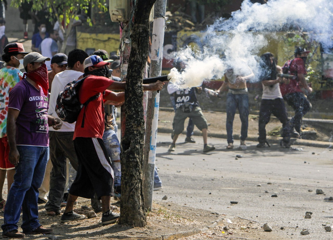 TOPSHOT-NICARAGUA-STUDENTS-PROTEST