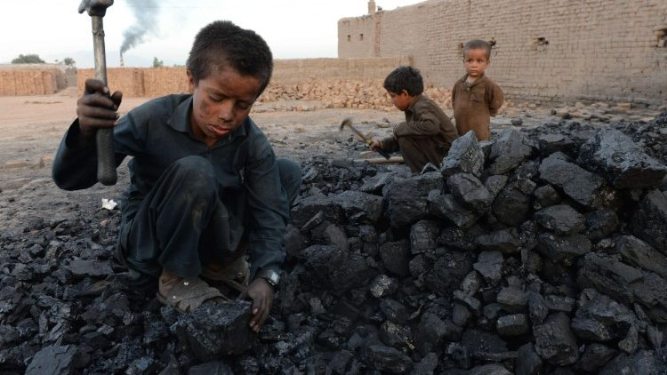Child labour in Afghanistan.