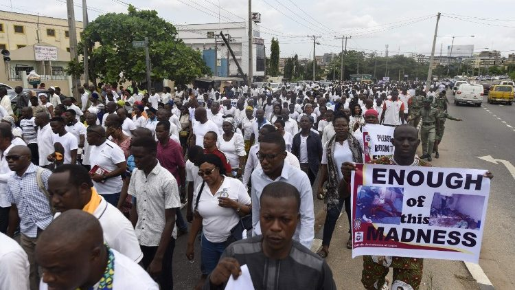 Proteste in Nigeria
