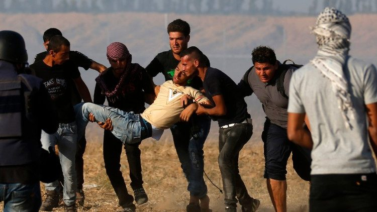 violence on the border between Gaza and Israel