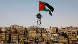 Drapeau jordanien (photo d'illustration)