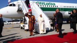 SWITZERLAND-VATICAN-POPE-TRIP