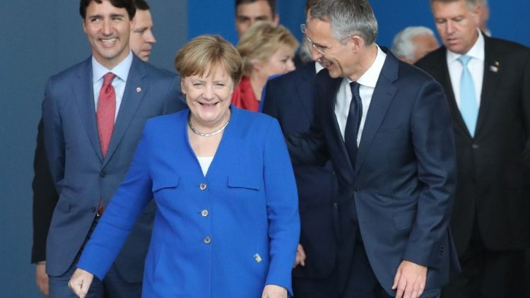 Leaders gathering in Brussels for NATO summit