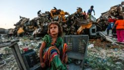 TOPSHOT-PALESTINIAN-ISRAEL-GAZA-CHILDREN-POVERTY
