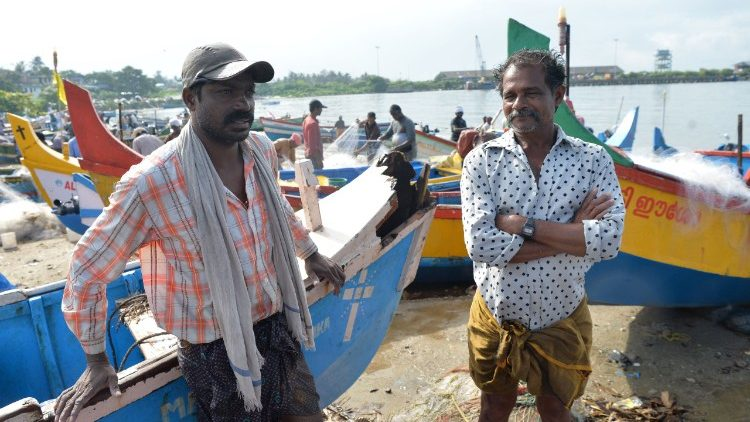 Fishermen of Kerala coast - UN World Fisheries Day November 21.