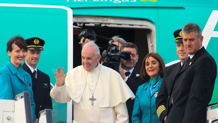 Pope francis farewell telegram to irelands president vatican news pope francis greeting ireland farewell m4hsunfo
