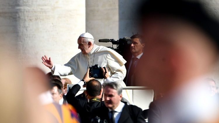 VATICAN-POPE-AUDIENCE-RELIGION