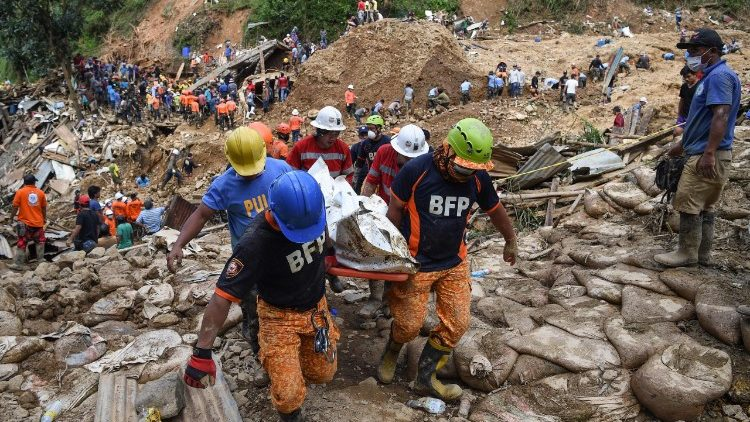 Rescue Operation At The Massive Landslide Site At Itogon Triggered By Typhoon Mangkhut In Northern Philippines