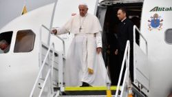 ESTONIA-RELIGION-POPE