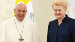 LITHUANIA-RELIGION-POPE