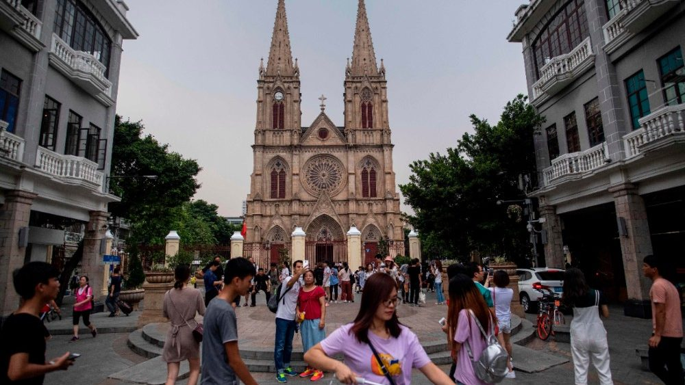 Cattedrale del Sacro Cuore a Guangdong