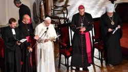 LATVIA-VATICAN-RELIGION-POPE-DIPLOMACY