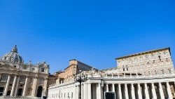Pope Francis prays the Angelus on World Mission Sunday
