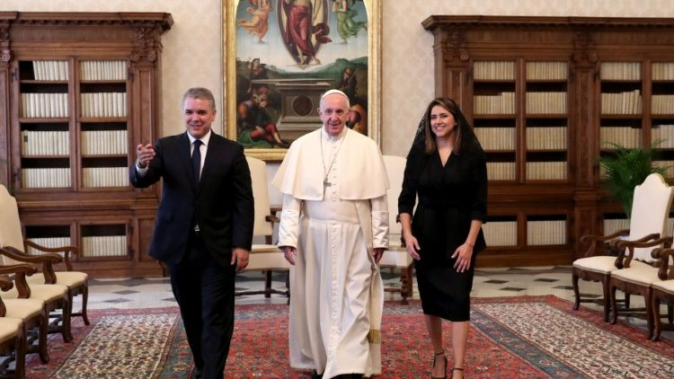 VATICAN-POPE-COLOMBIA