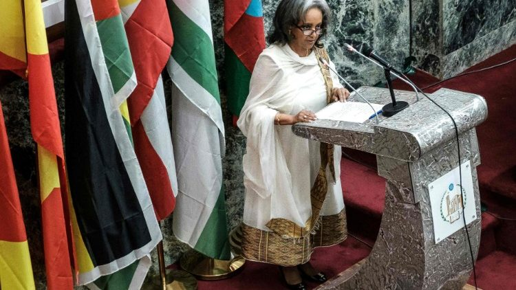 Ethiopia's first female presdent, Sahle-Work Zewde