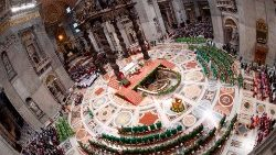 TOPSHOT-VATICAN-RELIGION-POPE-SYNOD-MASS