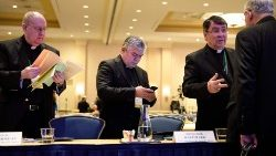 Bishops taking part in the USCCB Fall General Assembly