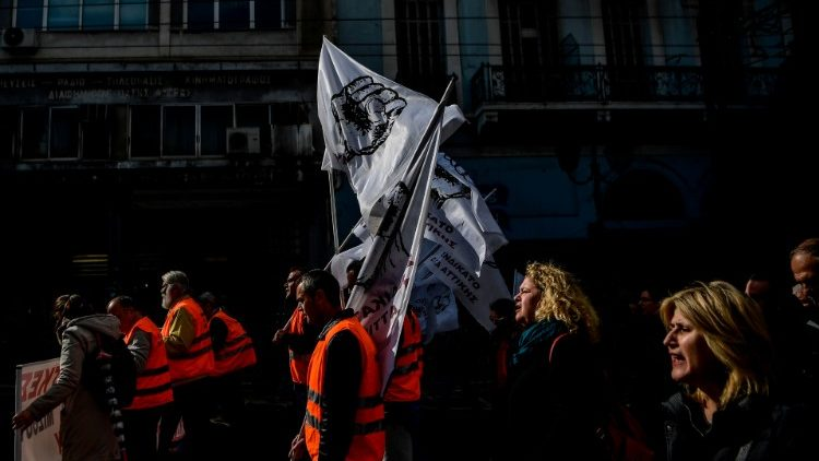 GREECE-ECONOMY-STRIKE-LABOUR