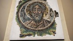 CYPRUS-ART-ARCHAEOLOGY-saint Andrew-found.