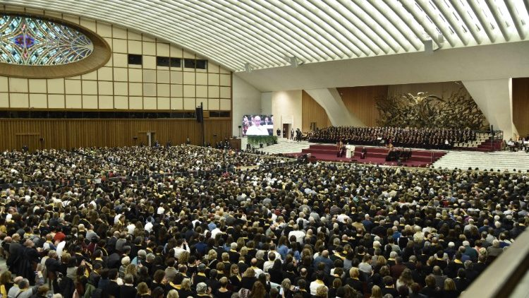 VATICAN-POPE-CHOIRS-AUDIENCE-malayalam-church-musicians-gathering