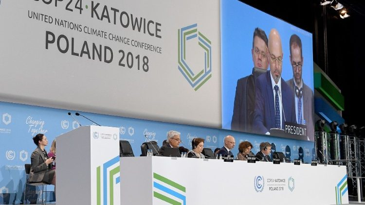 Session of the COP24 Climate Conference in Poland