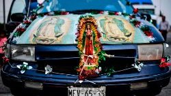 Annual pilgrimage in honor of Mexico's patron saint, the Virgin of Guadalupe (file photo)