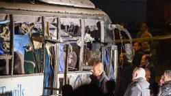 Tourist bus attacked in Giza