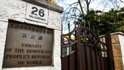 North Korea's embassy to Italy, located in Rome
